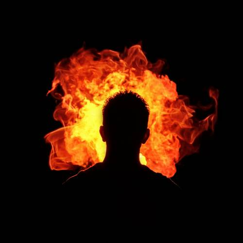 Stare into the flames